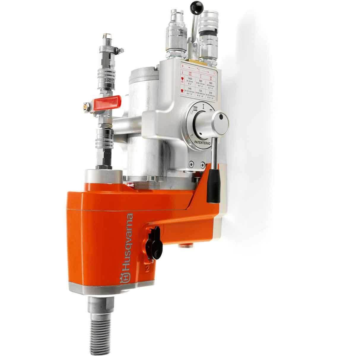 husqvarna dm 406 hl 6 speed hydraulic drill motor