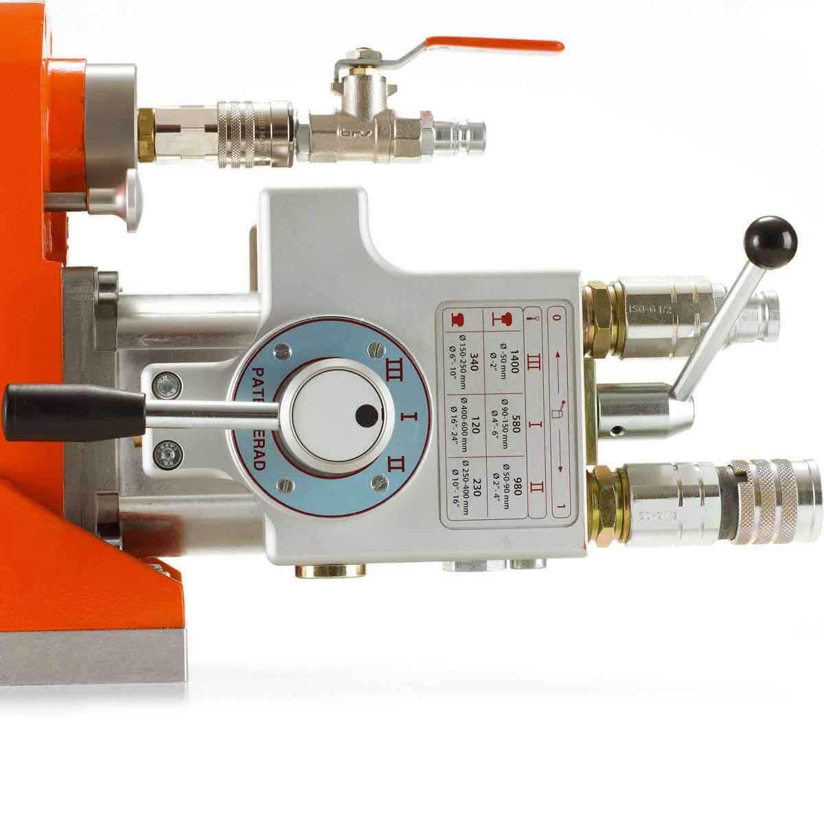 DM 406 H 6-Speed Hydraulic selector