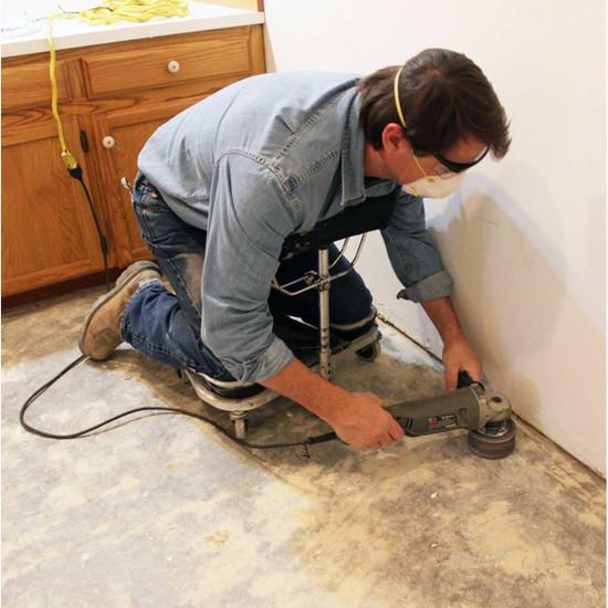 Racatac Knee Pad Floor Grinder