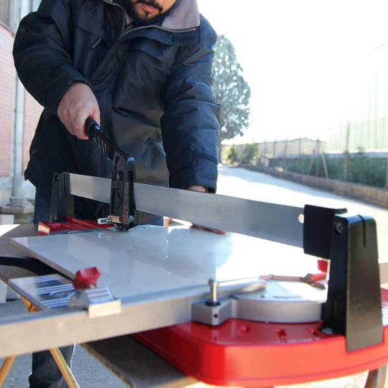rubi push tile cutter on site