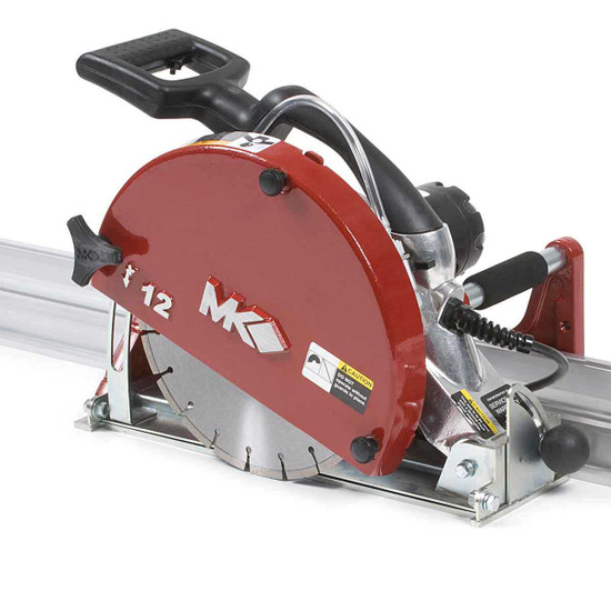 MK-1590 Wet Cutting Rail Saw 12 inch cutting head