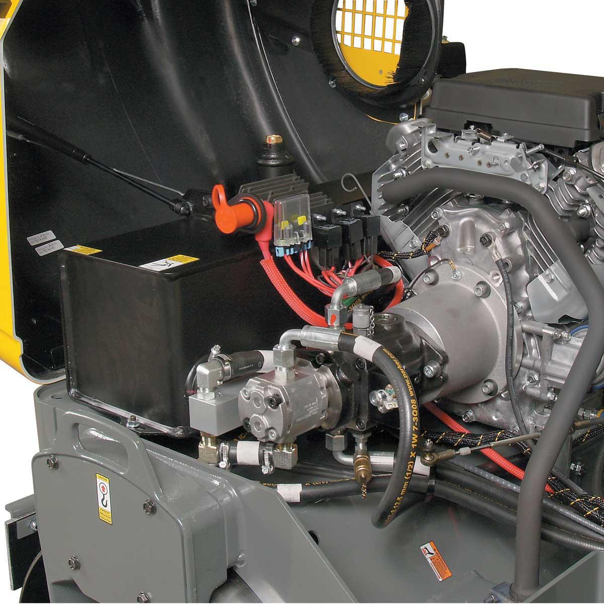 Wacker Neuson roller motor