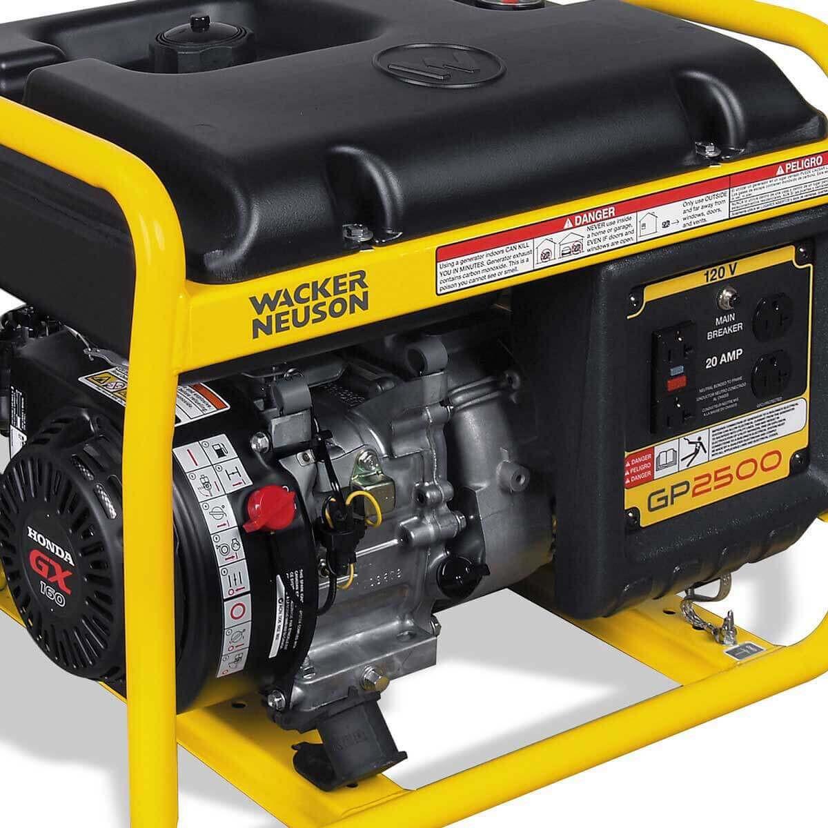 Wacker Neuson GP 2500A portable generator