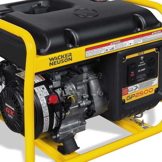 Wacker GP2500A Generator Control Panel