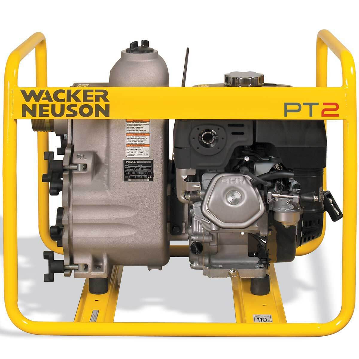 5000009092 2 inch Honda Gas Centrifugal Trash Pump PT2A