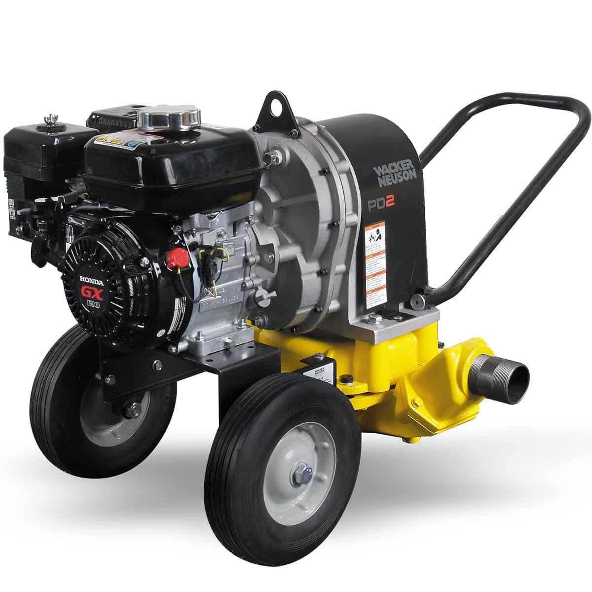 Mobile 2 inch Trash Pump Wacker Neuson PDT2A
