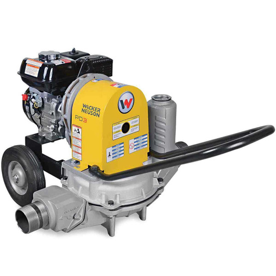 "Wacker Neuson PDT 3A 3"" Diaphragm Trash Pump"