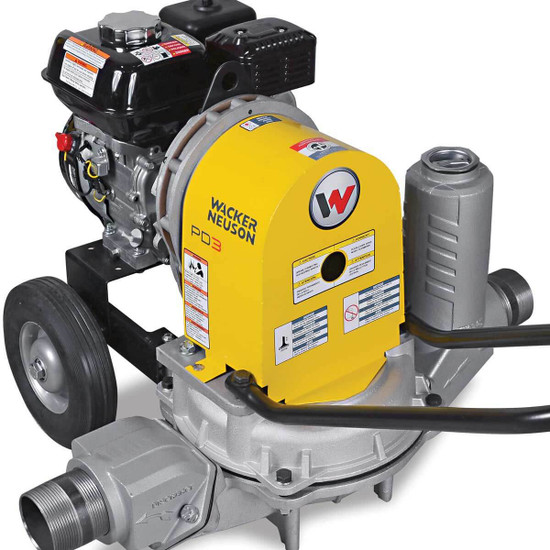 PDT Wacker Neuson 3in trash pump