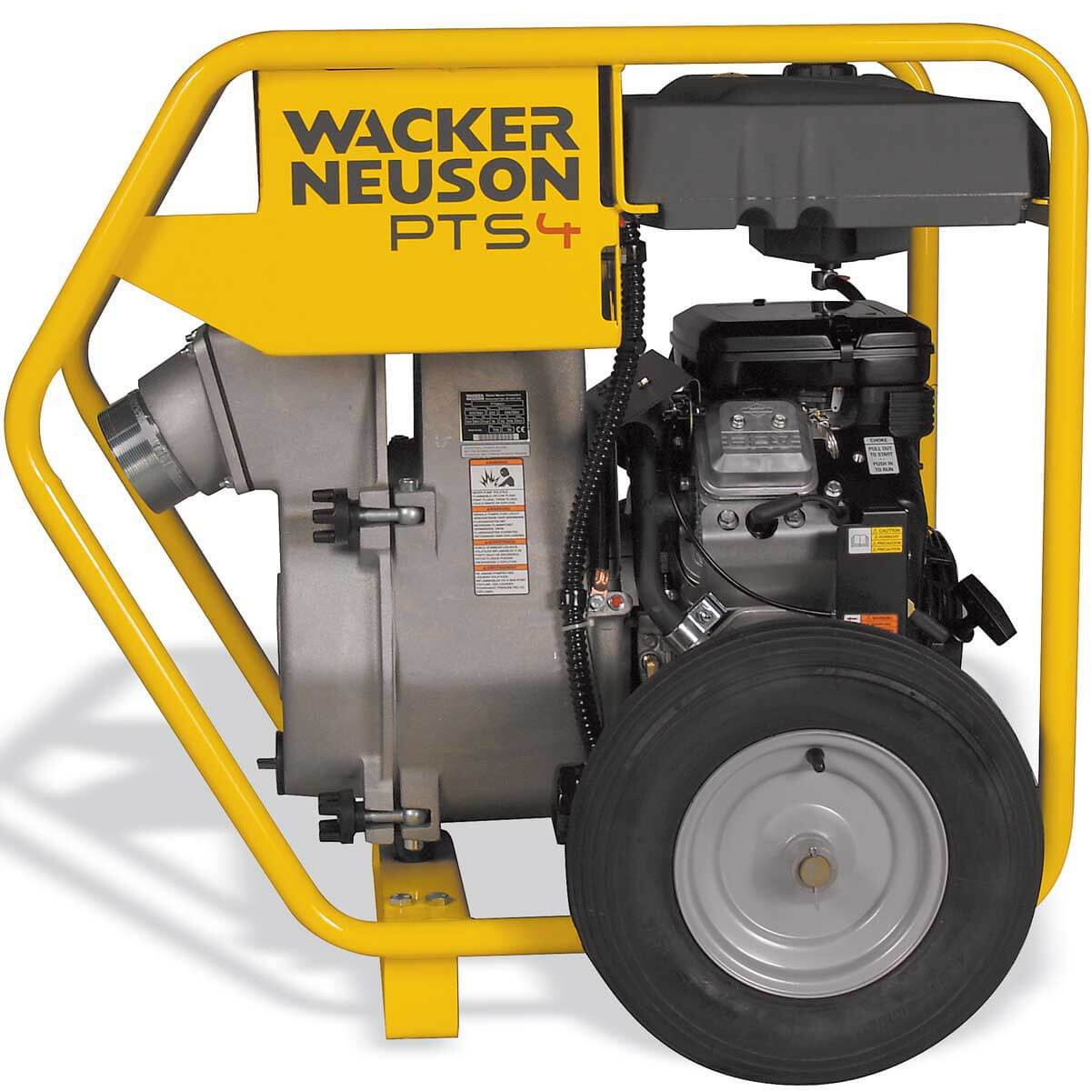 PTS4V Wacker Neuson Centrifugal Trash Pump