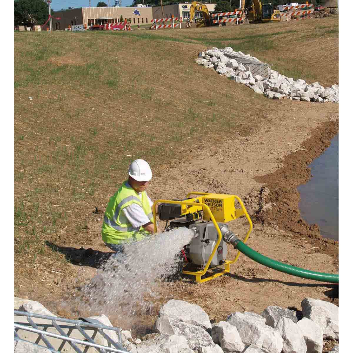 700 gallons per minute Wacker Neuson