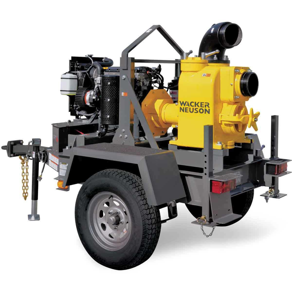 Wacker Neuson PTS 6LT 6 inch Centrifugal Trash Pump