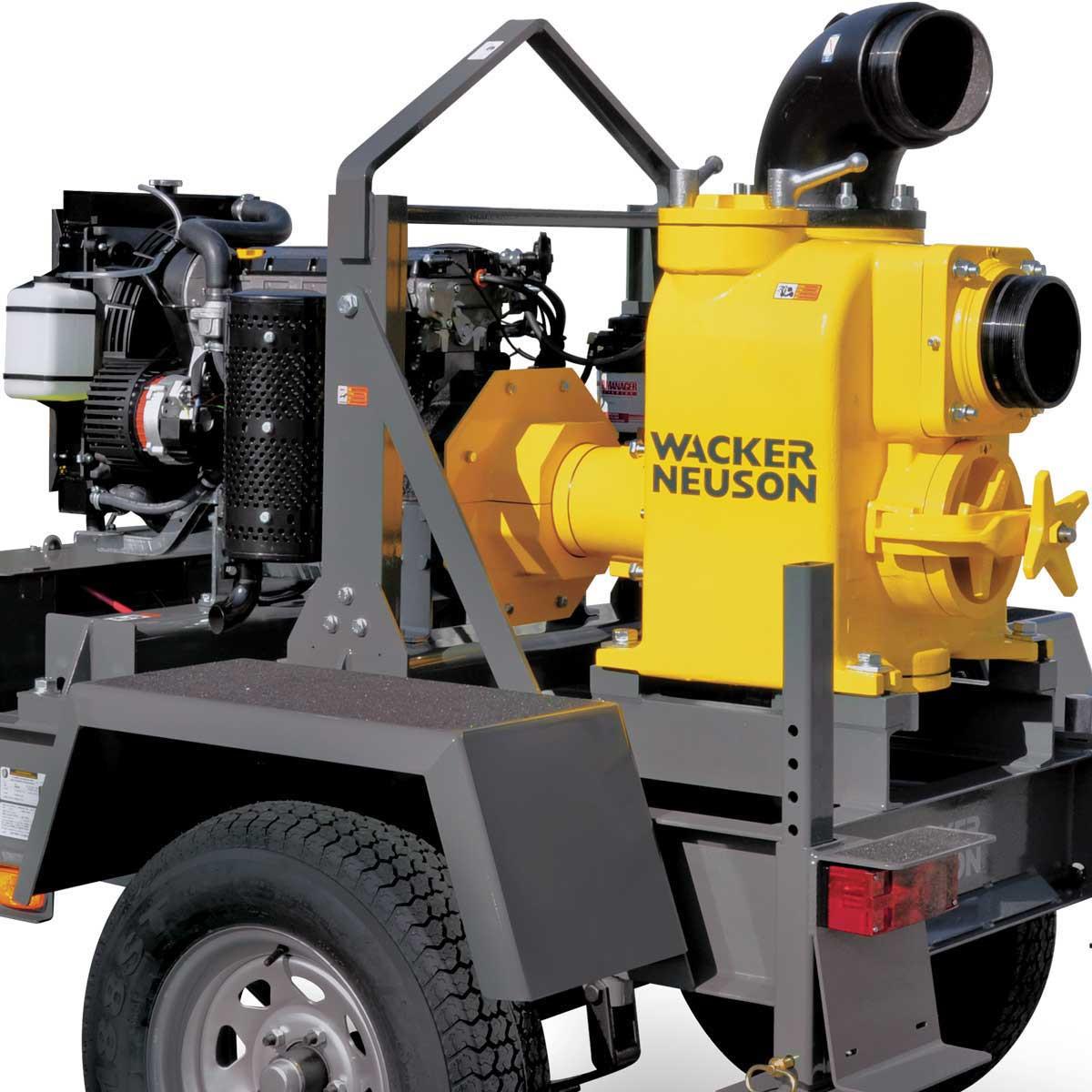 PTS 6LT 6 inch Centrifugal Trash Pump Wacker Neuson