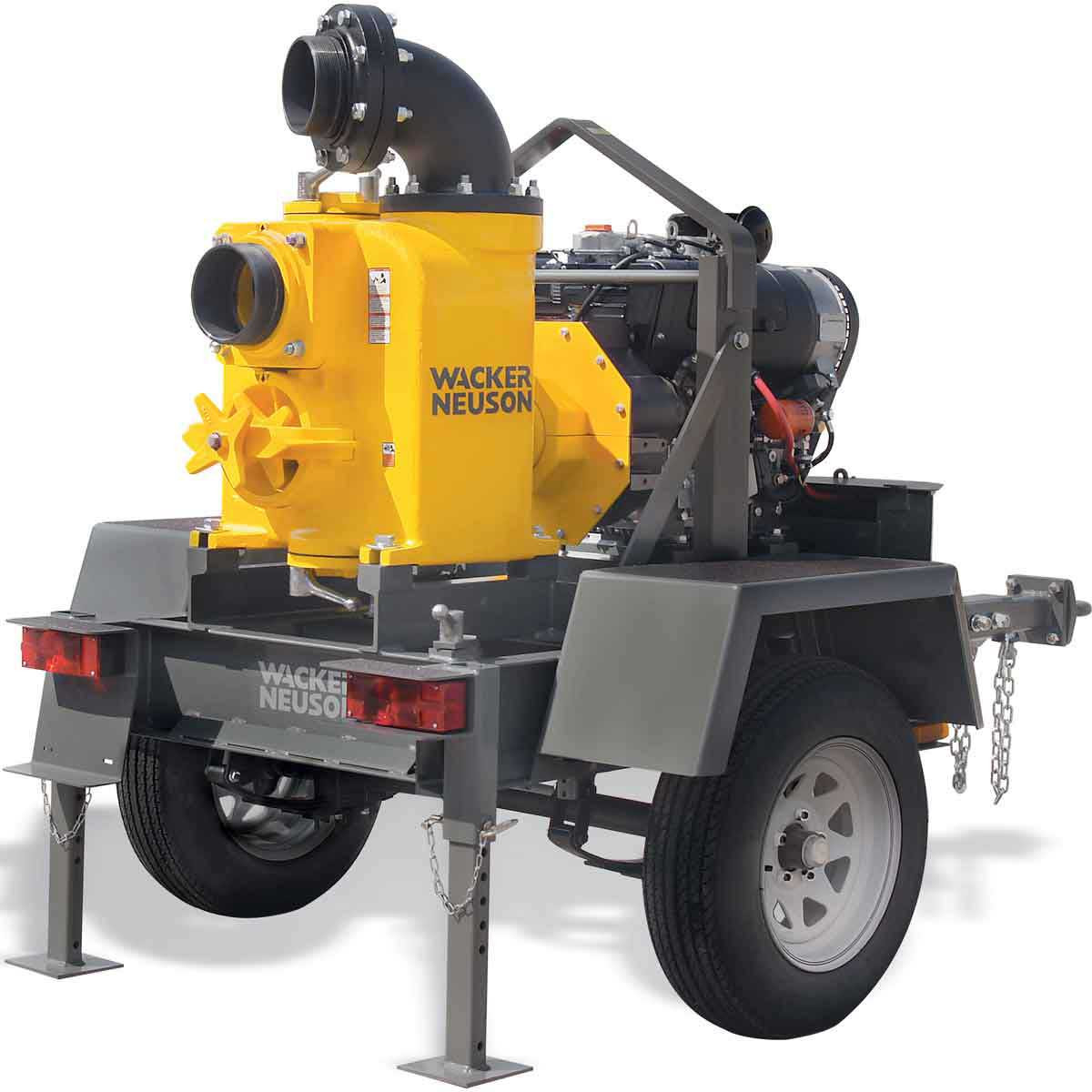 6 inch Trash Pump Wacker Neuson