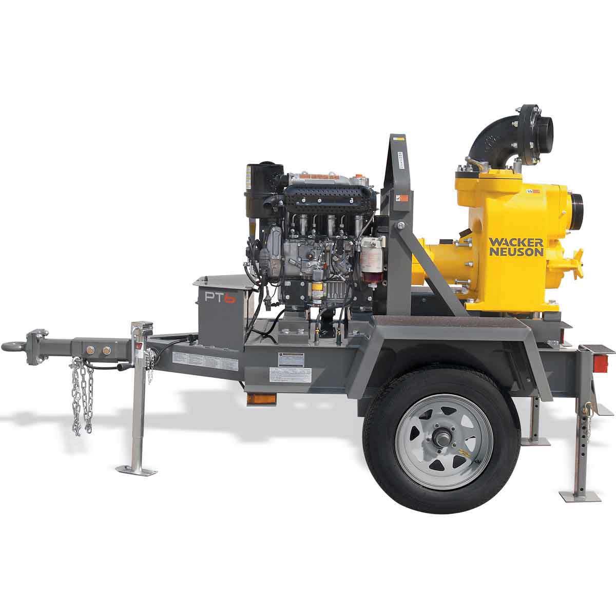 5200014741 Wacker Neuson PTS 6 inch Trash Pump