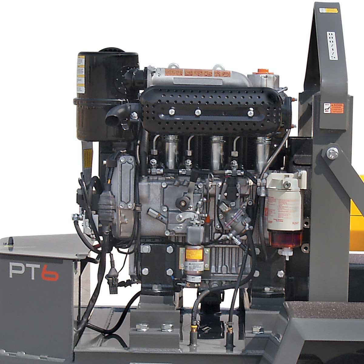 Diesel Wacker Neuson PTS 6 inch Trash Pump