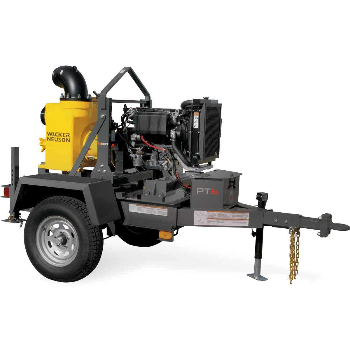 6 inch 6LT Centrifugal Trash Pump