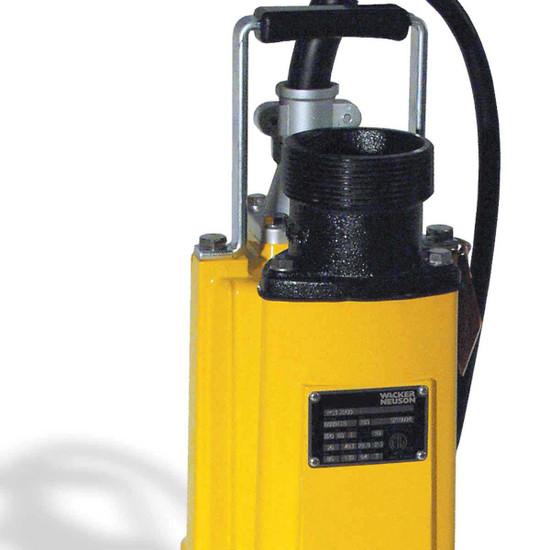 Wacker PS3 Pump Discharge Port