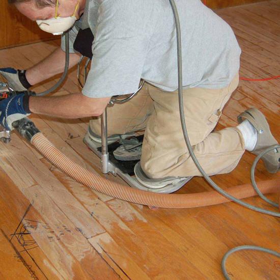 Racatac Roller Knee Pads Sanding Floor