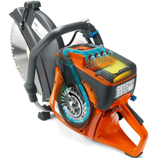 Husqvarna K760 II Power cutter air