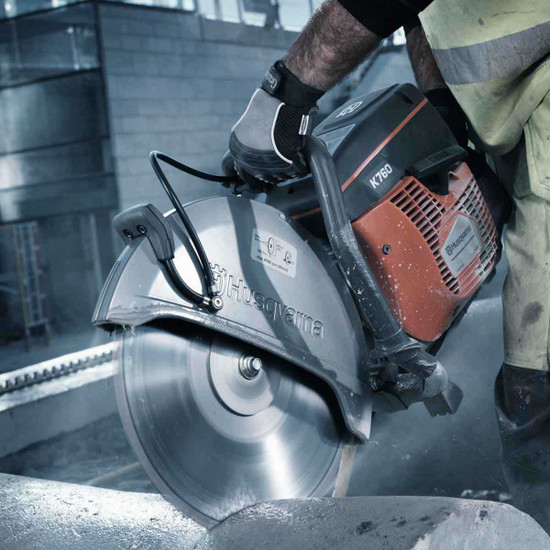 Husqvarna K760 Power cutter stone