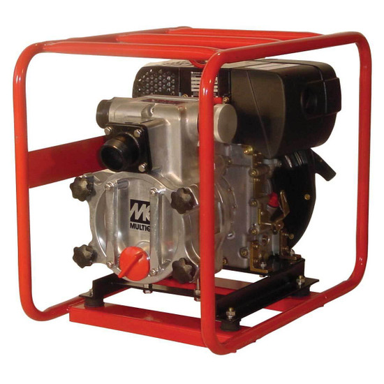 2 inch Multiquip Diesel Powered Trash Pump QP2TZ