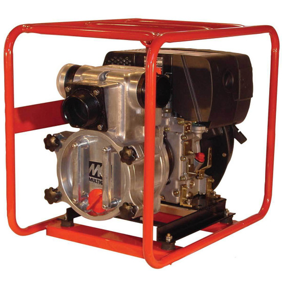 Multiquip QP3TZ Diesel Powered Trash Pumps