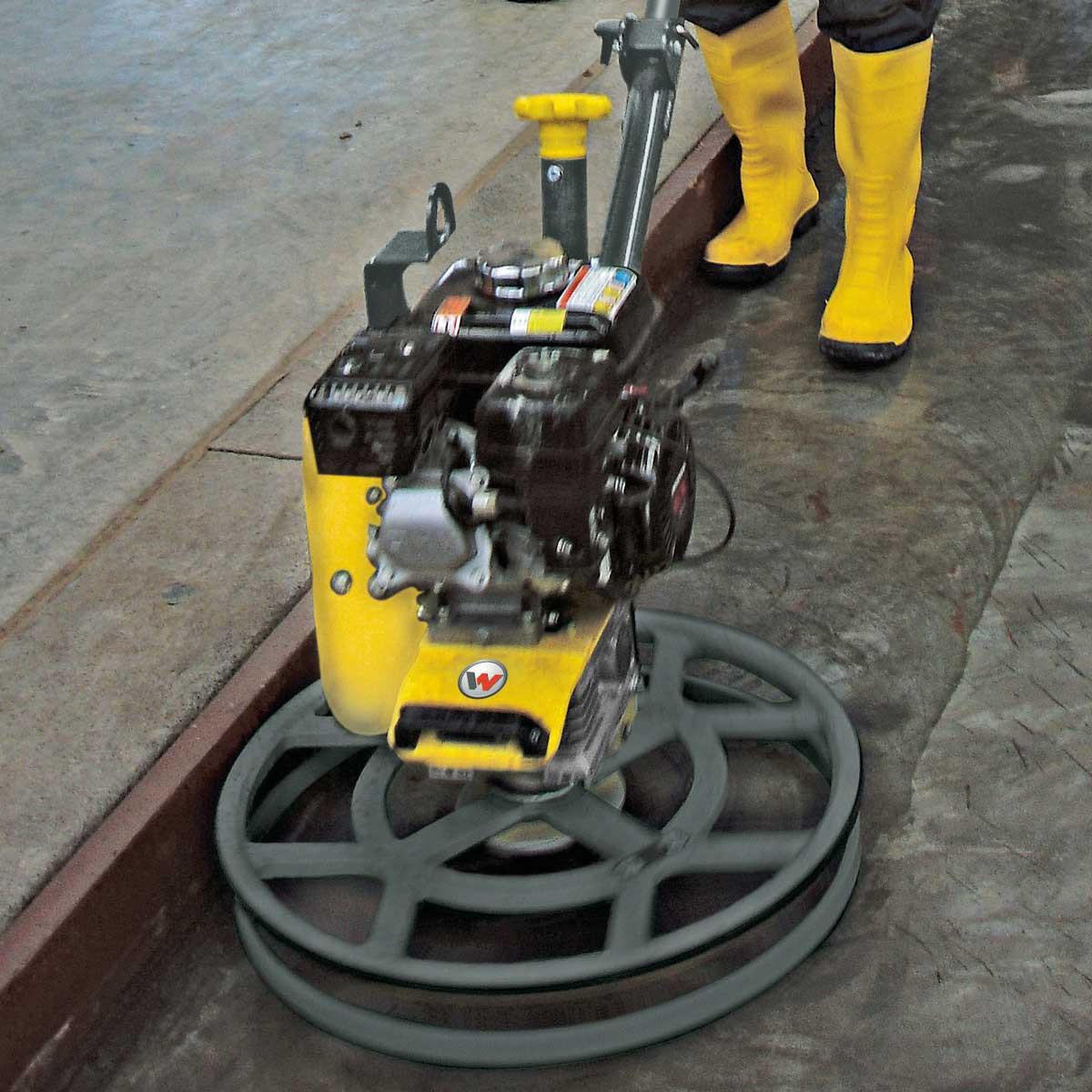 Wacker Neuson power trowel