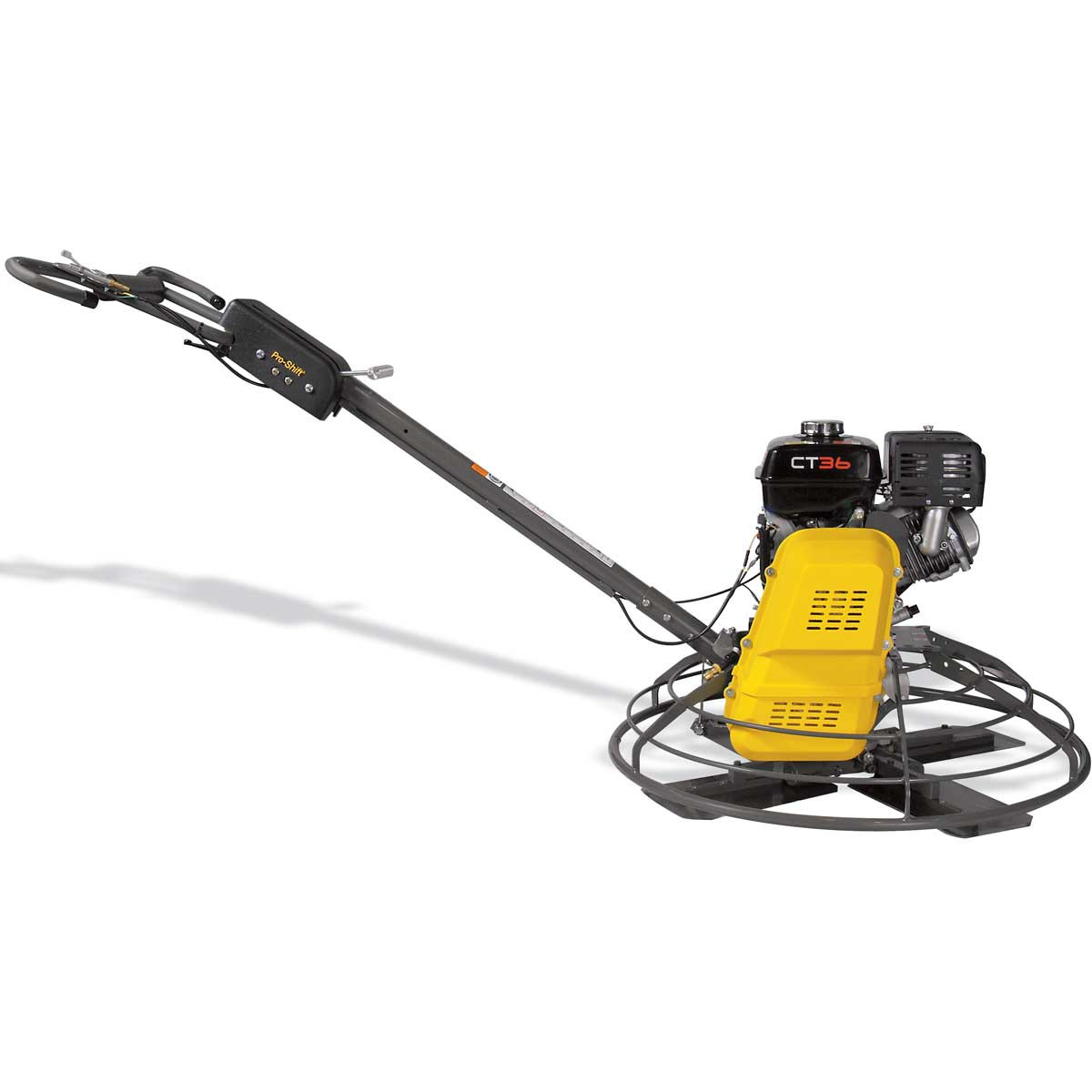 Wacker CT36 variable power trowel