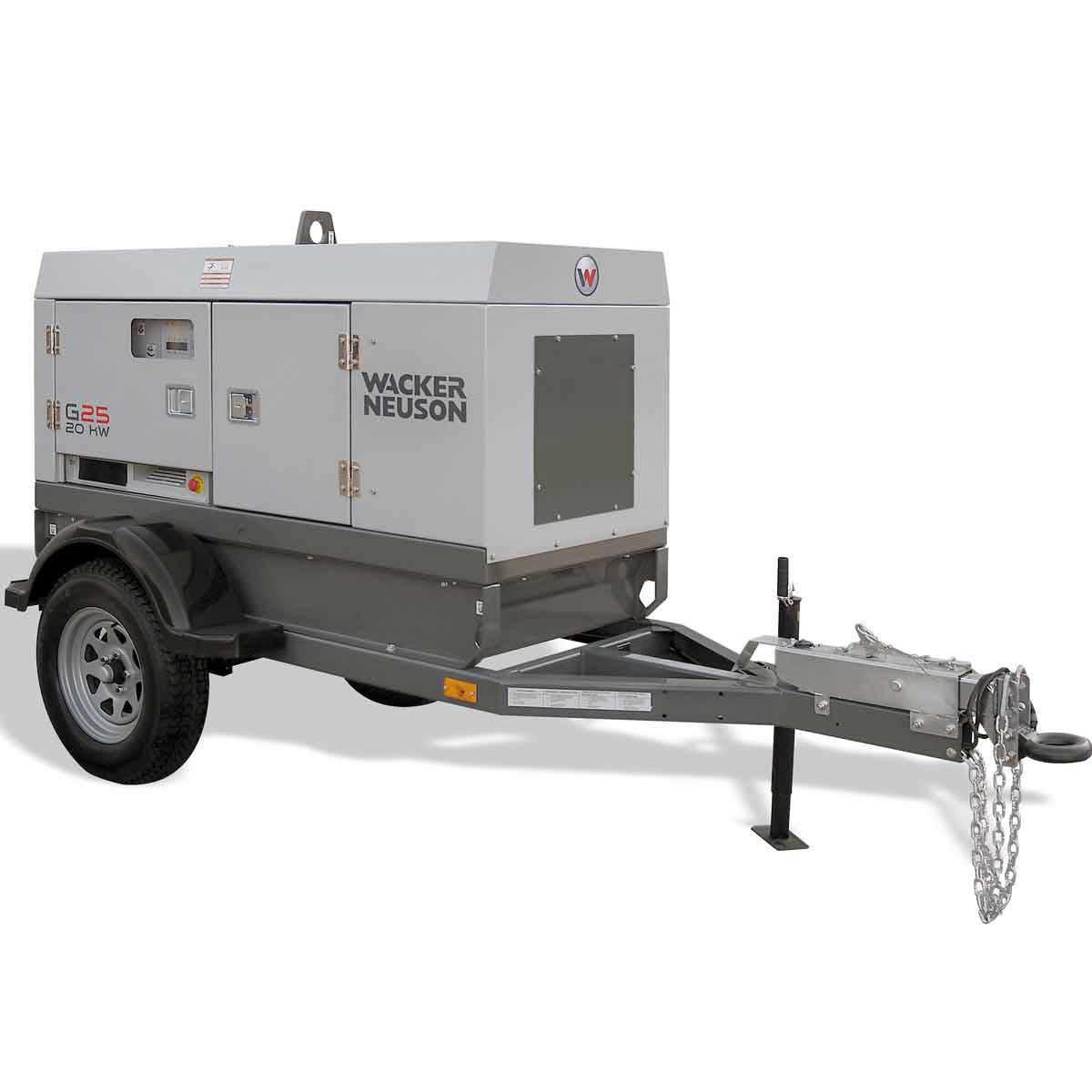 Wacker Neuson G 25 Mobile Generators Contractors Direct