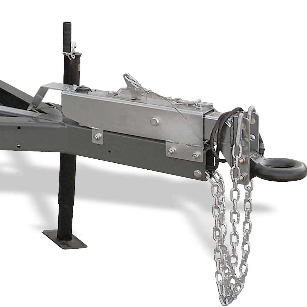 Wacker Neuson mobile generator pintle hitch