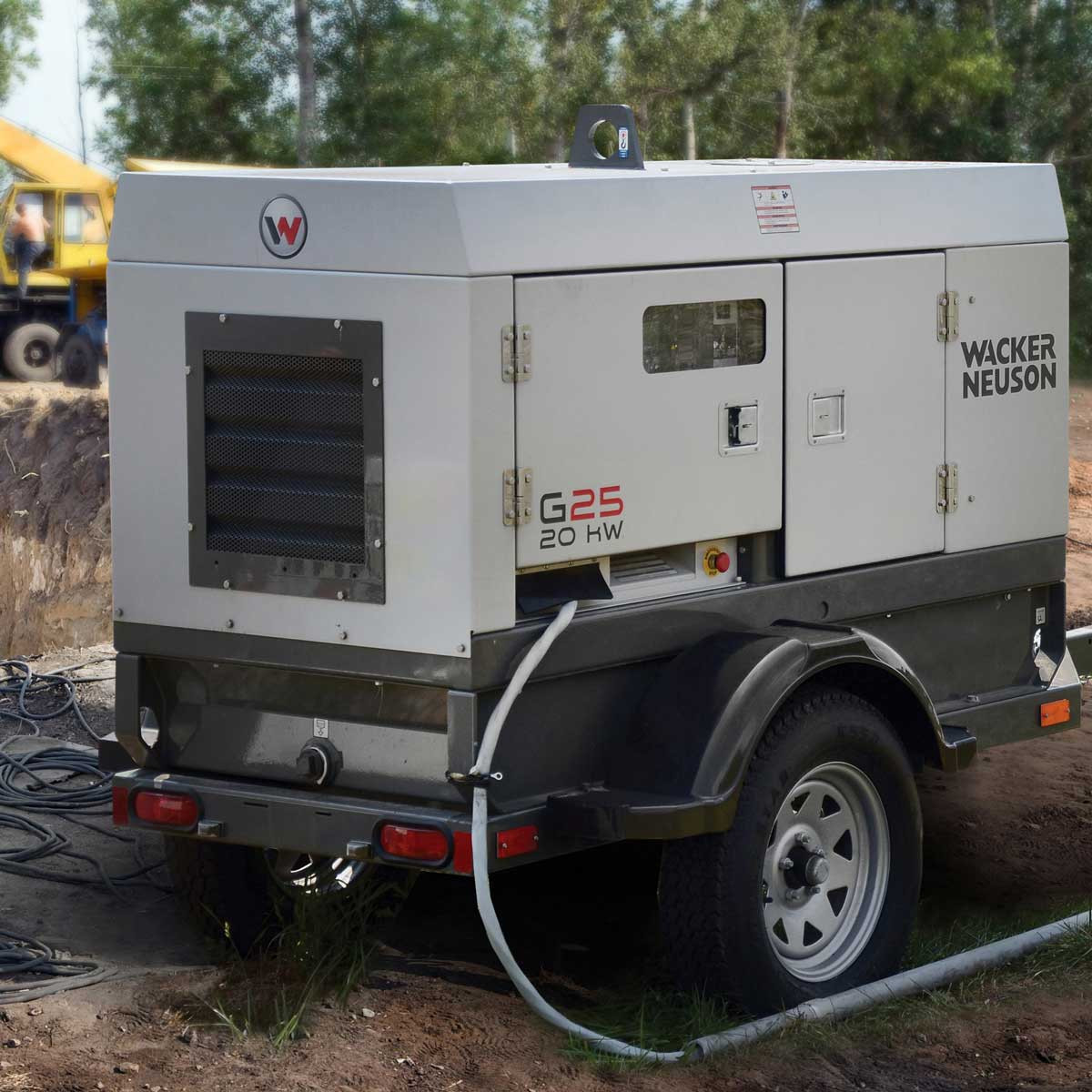 20,000 watt mobile generator Wacker Neuson