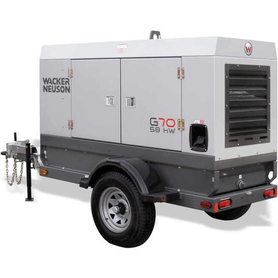 Wacker Neuson G 50 Mobile Generator John Deere