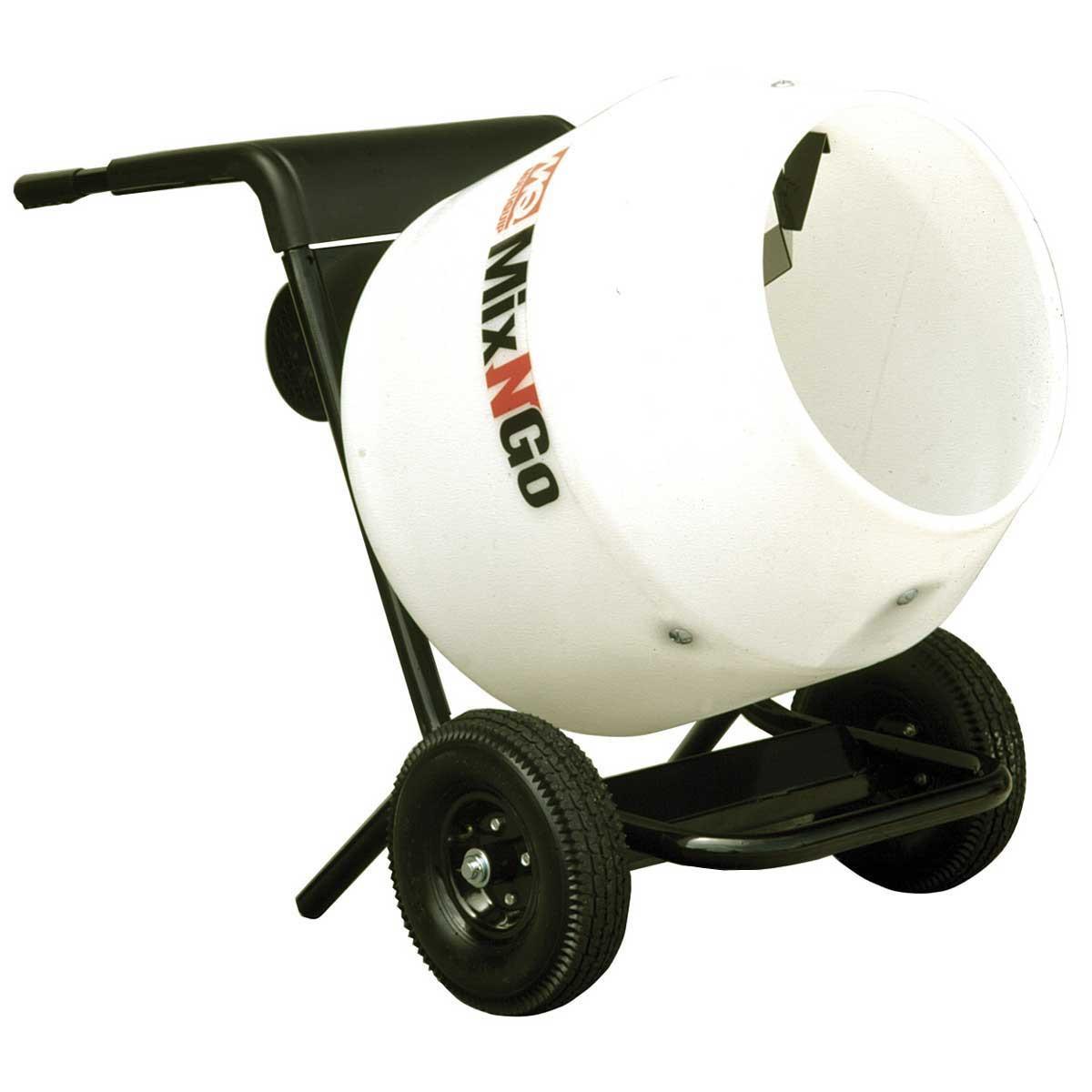 Mixers On The Go ~ Multiquip concrete mixer contractors direct