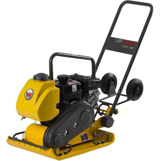 Wacker VP1550 with Water Kit and Wheel Kit