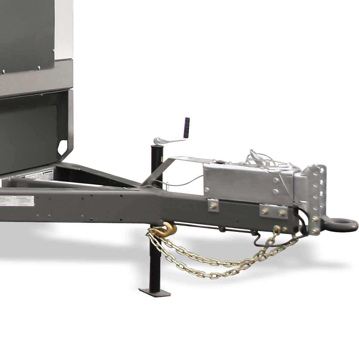 Wacker Neuson G120 mobile generator pintle hitch