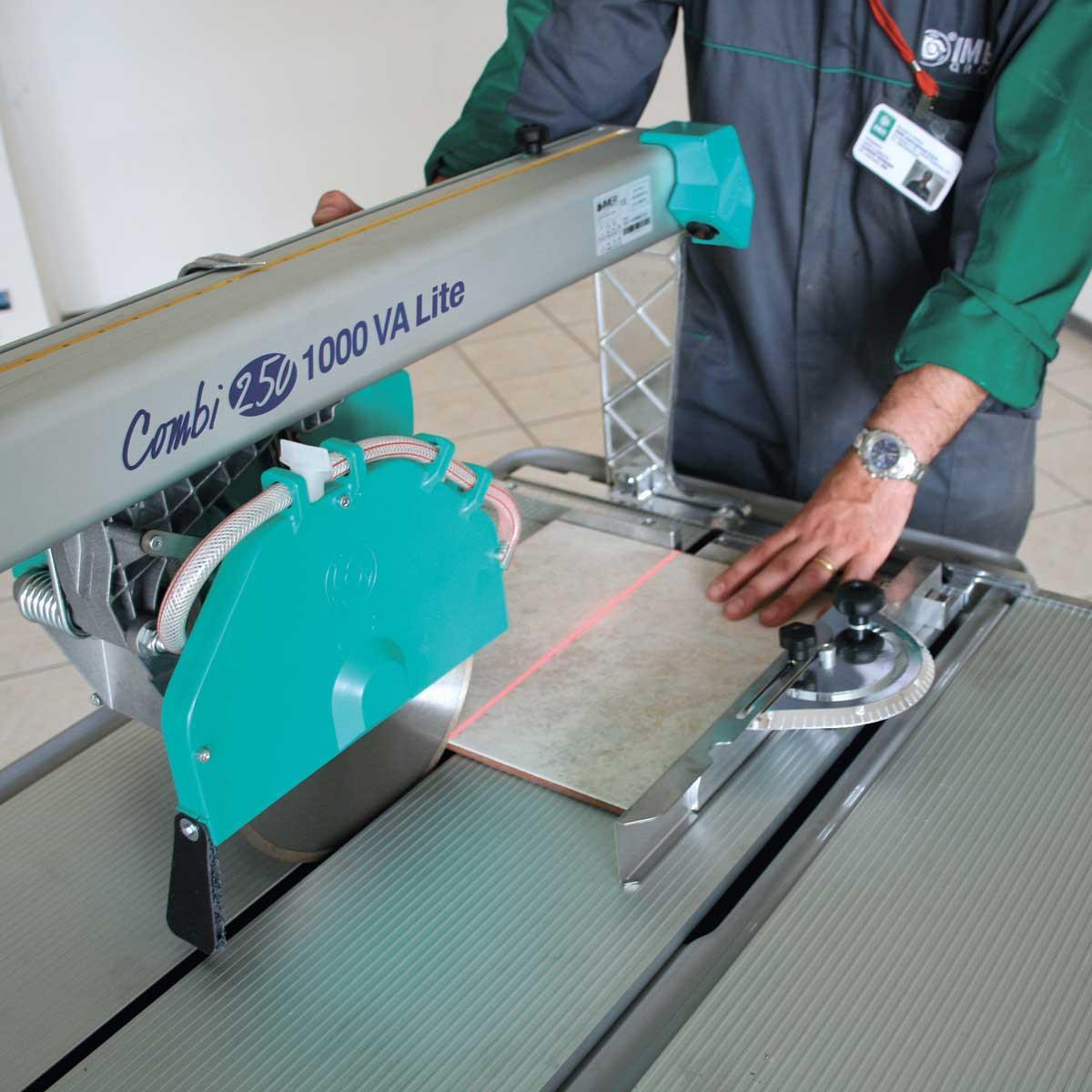 Imer Combi 250/1000VA laser cutting guide
