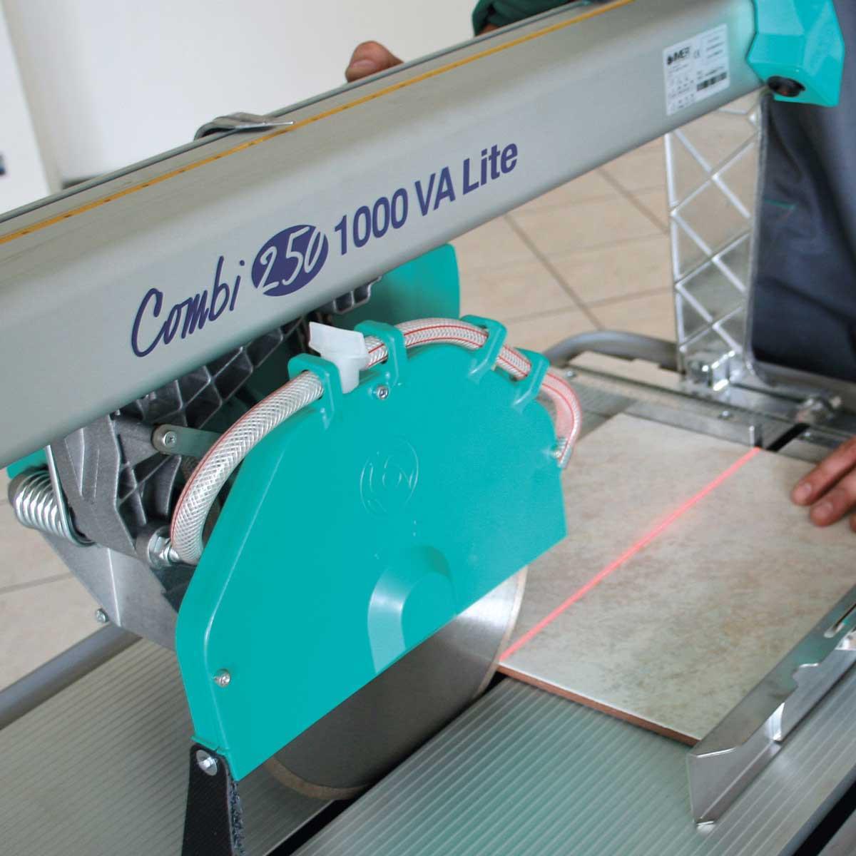 Imer Combi 250/1000VA laser cutting guide 2