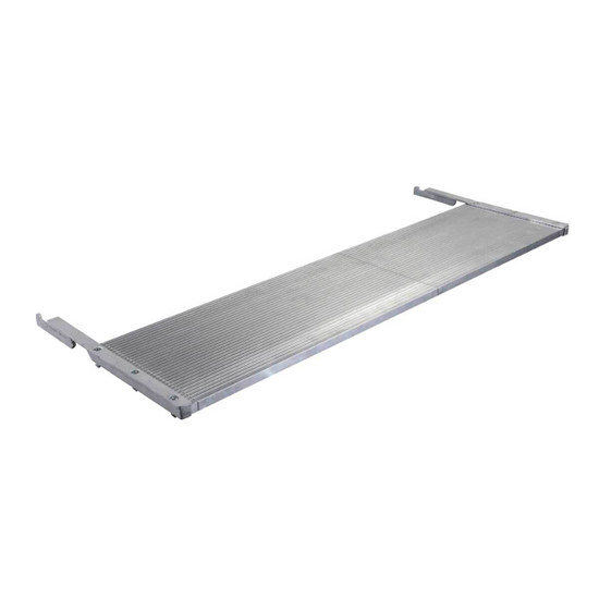 1188174 Imer Combi 250/1000VA Wet Saw side extension table