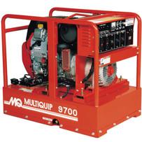 multiquip 20hp honda gx630 9700 watt generator