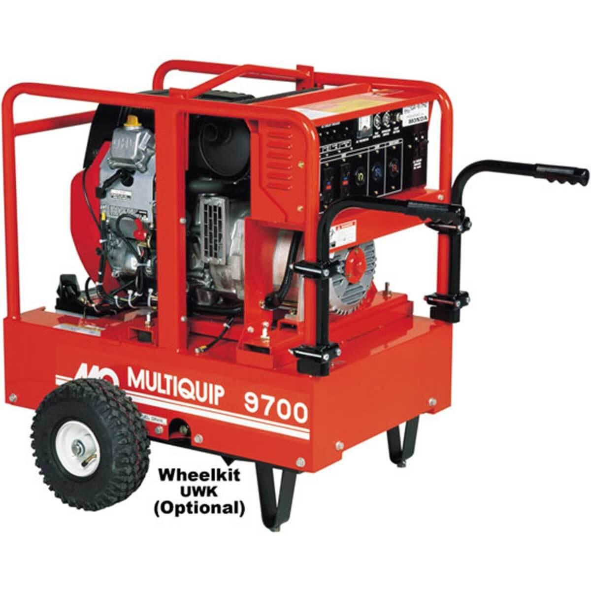 GA97HEA Multiquip Honda GX630 Generator. Contractors Direct