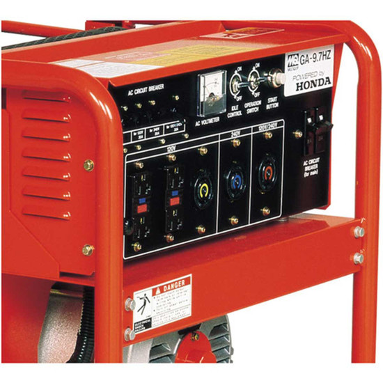 9700 watt multiquip generator GX630