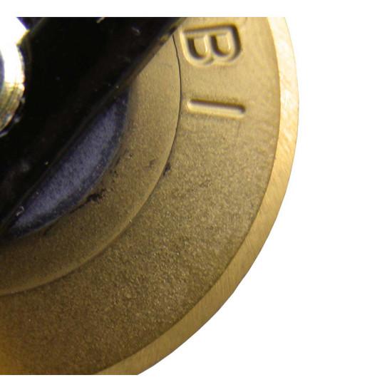 Rubi Gold Titanium Wheel close