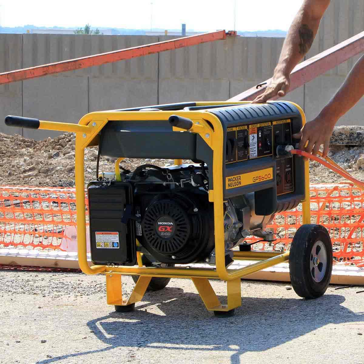 easy portable transport kit Wacker Neuson