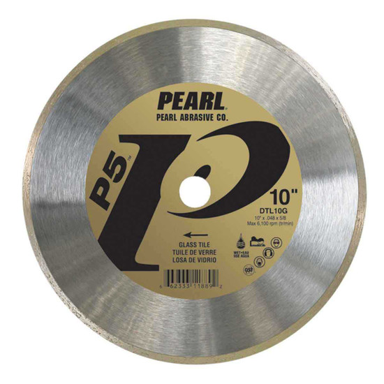 Pearl P5 Diamond Blade for wet cutting Glass