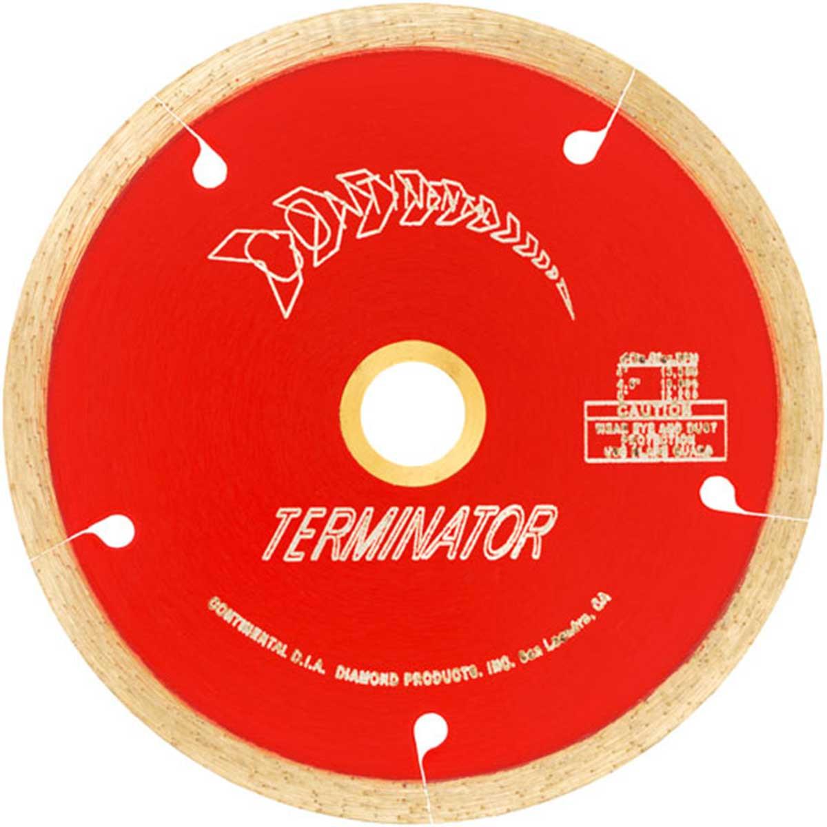 terminator dry continuous rim blade