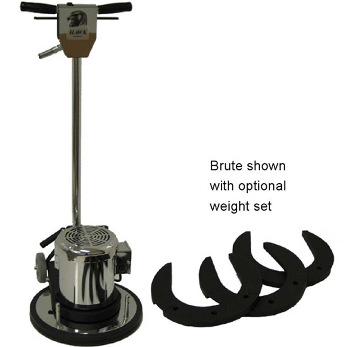 hawk brute with weight set