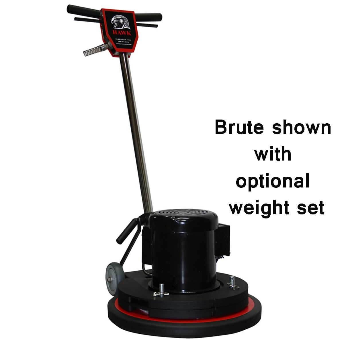 Hawk Brute floor machine Weights