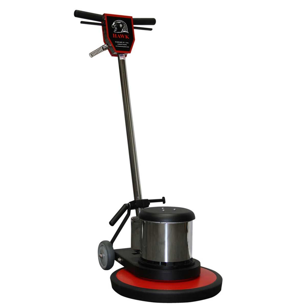 17in hawk 1-1/2 hp standard floor machines