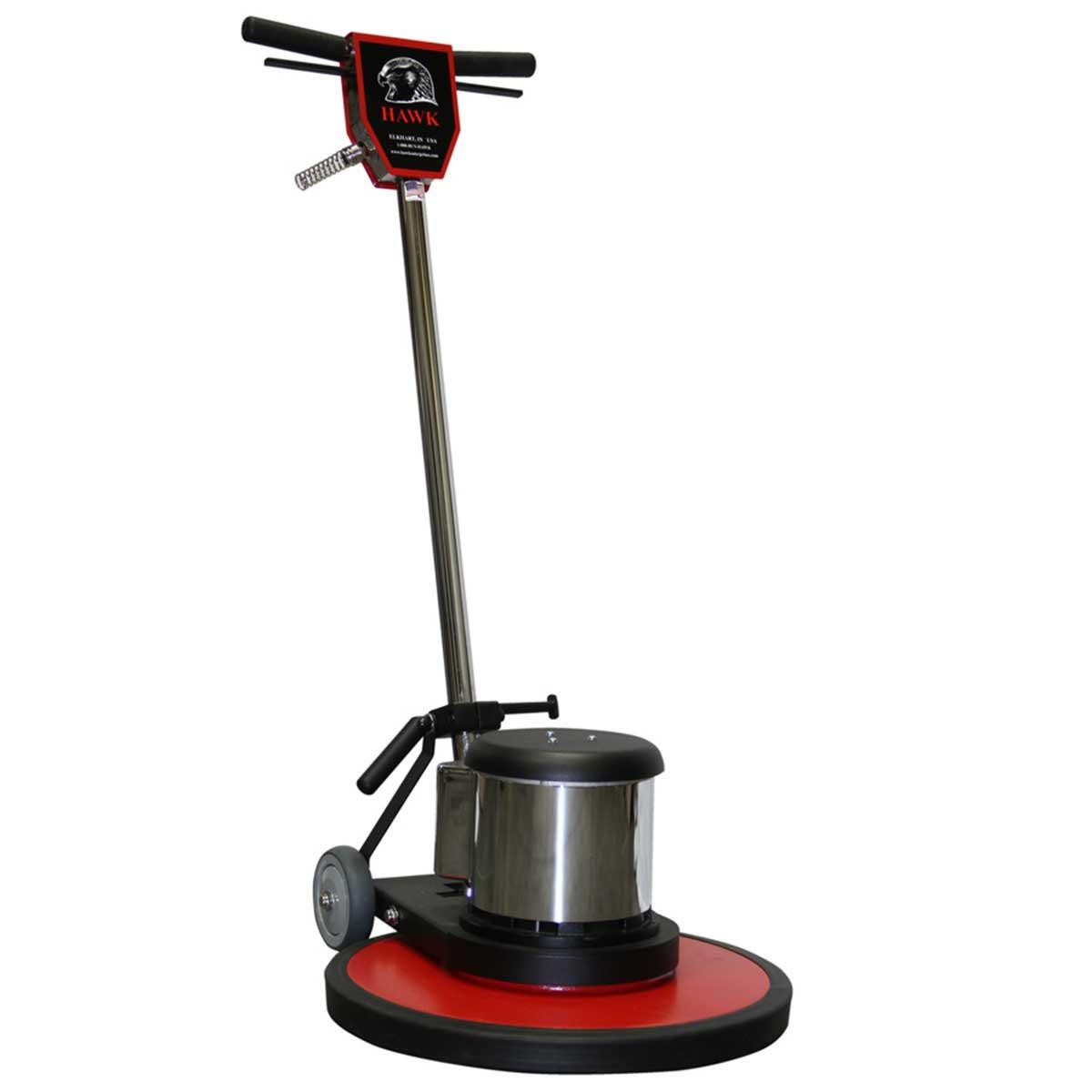20in hawk 1-1/2 hp standard floor machines