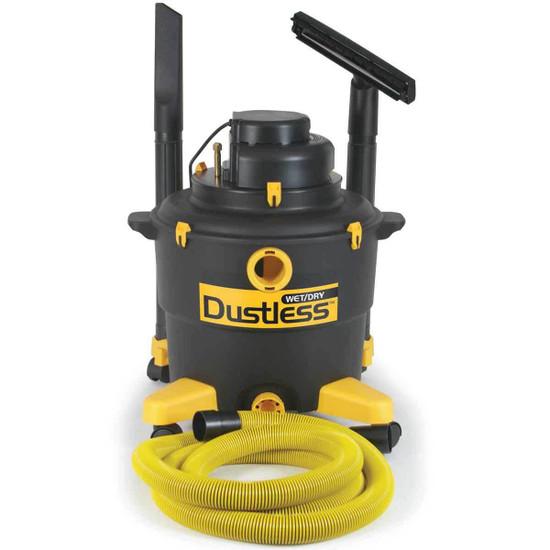TeqVac Dustless Wet Dry Vacuum